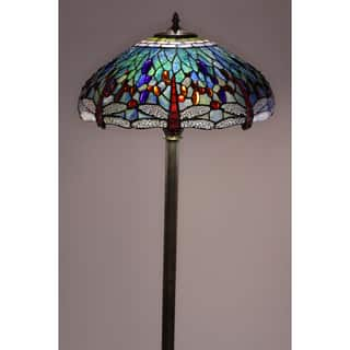 Tiffany-style Dragonfly Floor Lamp|https://ak1.ostkcdn.com/images/products/4047883/P12067020.jpg?impolicy=medium