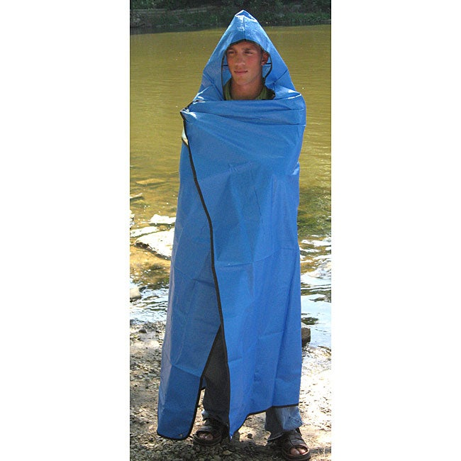 SPACE Brand Sportsman's Hooded Blanket/ Poncho