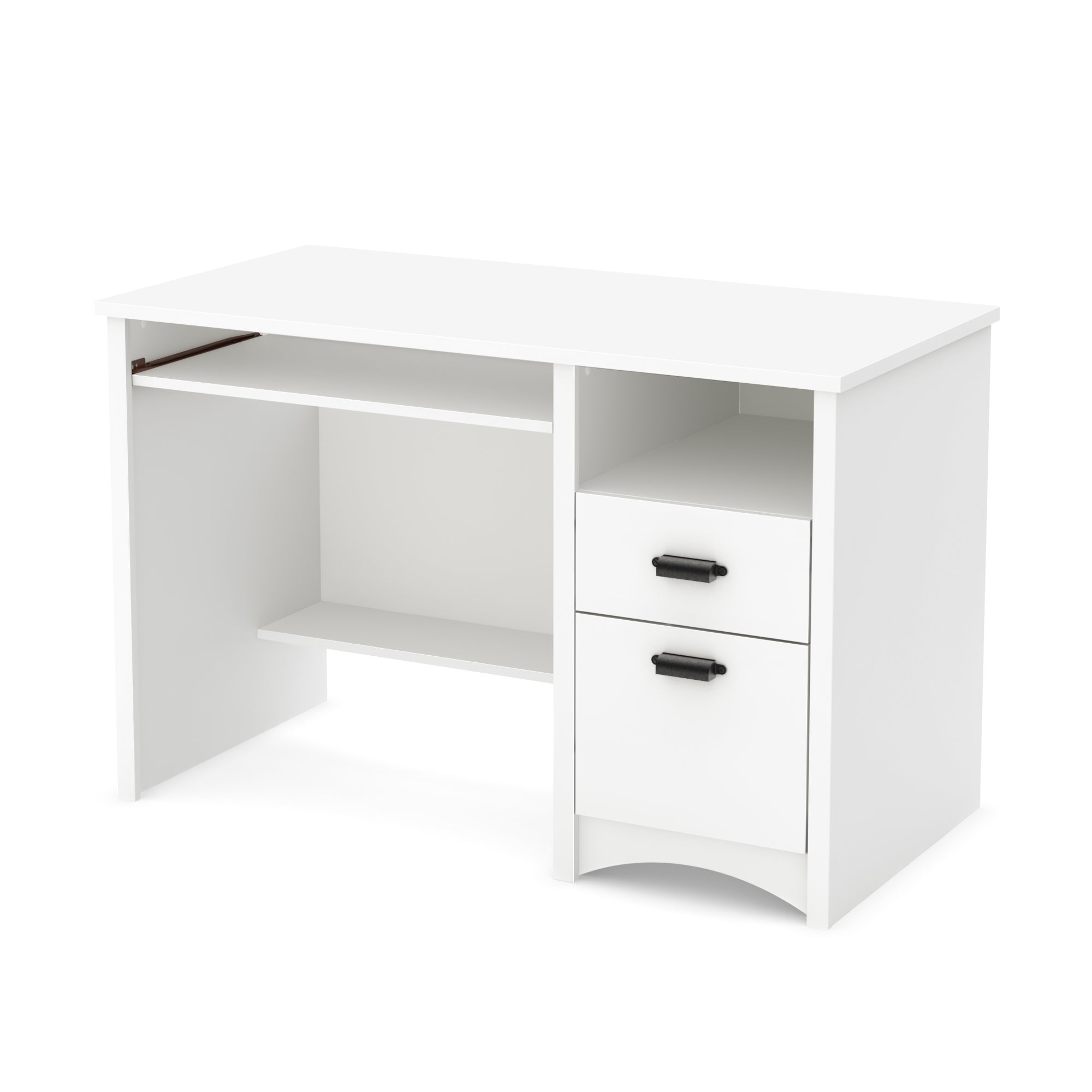 South Shore Gascony Computer Desk with Keyboard Tray (Che...