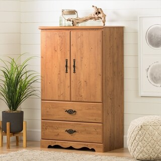 Prairie Armoire Country Pine Door Chest