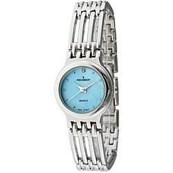 Peugeot Women's Open-link Bracelet Watch|https://ak1.ostkcdn.com/images/products/4048513/Peugeot-Womens-Open-link-Bracelet-Watch-P12067467a.jpg?impolicy=medium