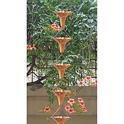 Angel Blossom Copper Rain Chain