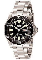 Invicta Men's Signature Automatic Watch - Black/Silver