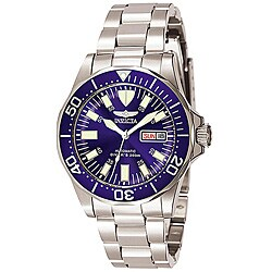 Invicta Men's 7042 Signature Automatic Blue Dial Watch