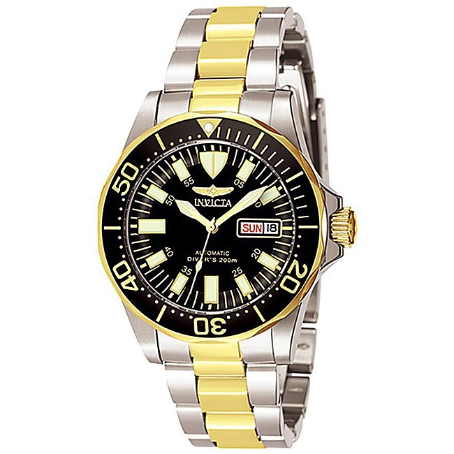 Invicta Men's 7045 Signature Automatic Two-Tone Watch, Si...