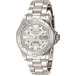 Invicta Men's 7048 Signature Steel Automatic Silvertone Watch