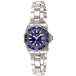 Invicta Women's 7060 Signature Stainless Steel Blue Dial Watch|https://ak1.ostkcdn.com/images/products/4048791/Invicta-Womens-7060-Signature-Stainless-Steel-Blue-Dial-Watch-P12067688.jpg?impolicy=medium