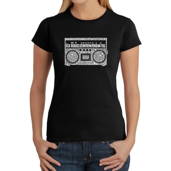 Los Angeles Pop Art Women's Boom Box Shirt