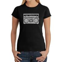 Los Angeles Pop Art Women's Boom Box Shirt