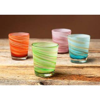 Impulse! Galaxy Rocks 4-piece Cocktail Glass Set