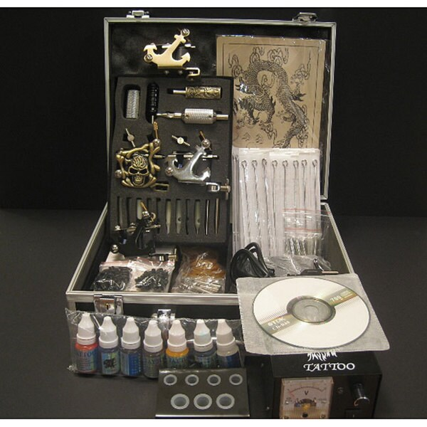 Design Element Emerpac Professional 3-gun Tattoo Machine Kit