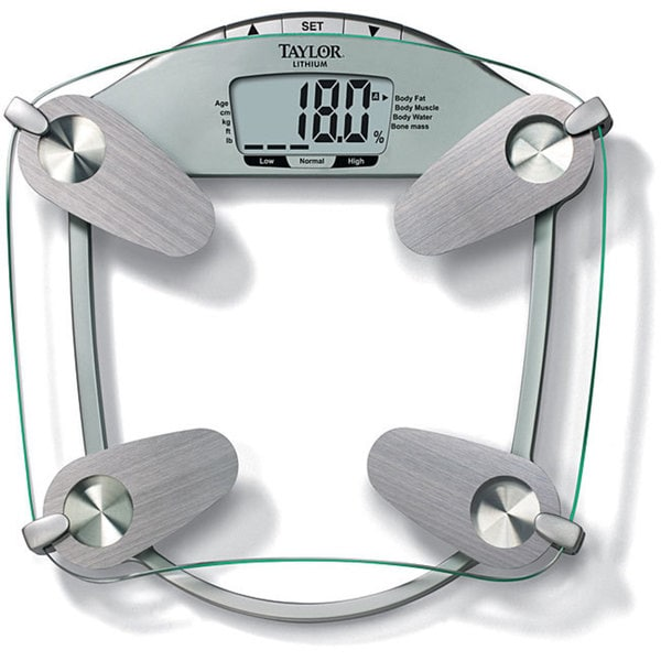 Taylor 5599 Tempered Glass Body Fat/Body Water Scale