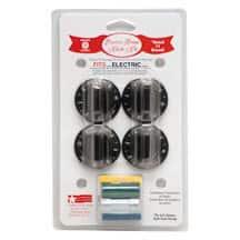 Range Kleen 8114 Black Electric Range Knobs