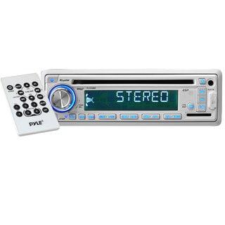 160-Watt AM/FM/MPX In-Dash Marine CD/MP3 Player