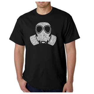 Los Angeles Pop Art Men's Gas Mask 'Fart' T-shirt|https://ak1.ostkcdn.com/images/products/4056116/P12074164.jpg?impolicy=medium