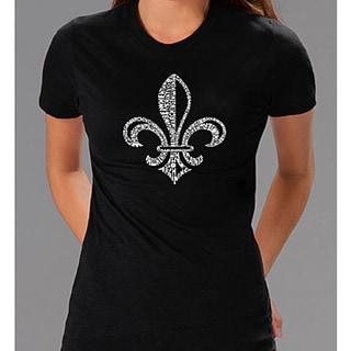 Los Angeles Pop Art Women's Fleur De Lis T-shirt