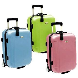 Traveler's Choice Freedom 21-inch Hardside Carry On Upright Suitcase