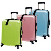 Traveler's Choice Freedom 25-inch Hardside Spinner Upright Suitcase