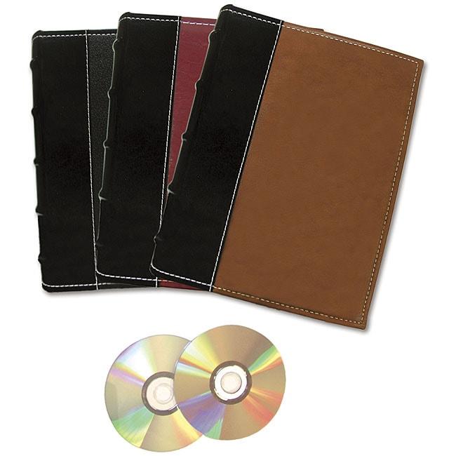 Bellagio Italia Large Storage Binder for CD, DVD, and Blu-ray Discs