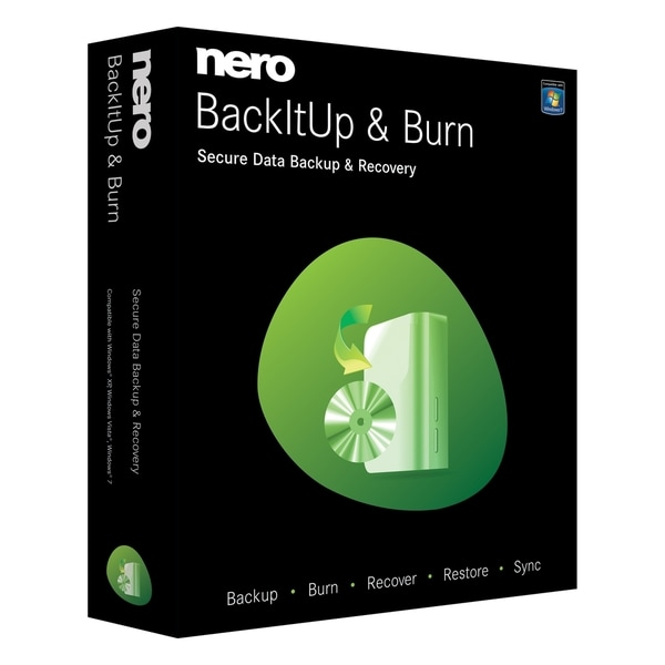 Nero BackItUp & Burn - Complete Product - 1 User