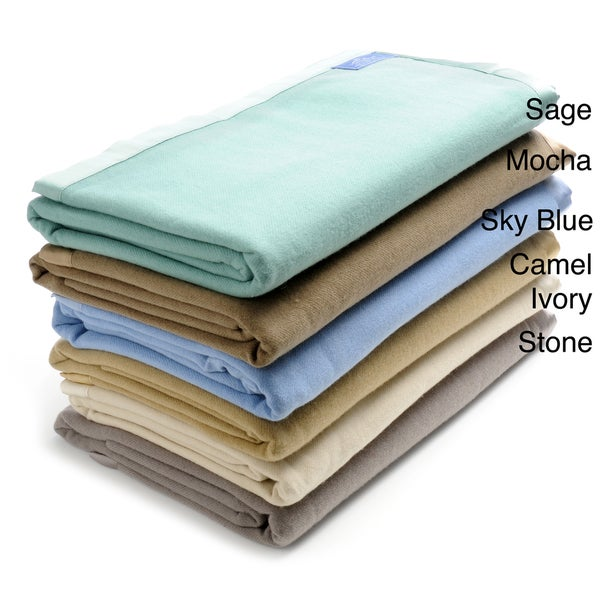 Luxury 100-percent Cashmere Bed Blanket