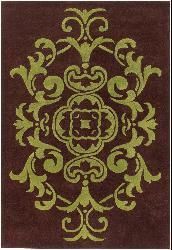Artist's Loom Hand-tufted Transitional Oriental Wool Rug (5'x7'6) - Thumbnail 1