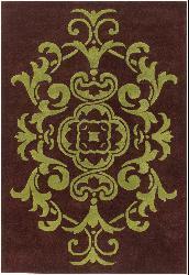 Artist's Loom Hand-tufted Transitional Oriental Wool Rug (5'x7'6) - Thumbnail 2