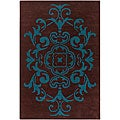 Artist's Loom Hand-tufted Transitional Oriental Wool Rug (5'x7'6)