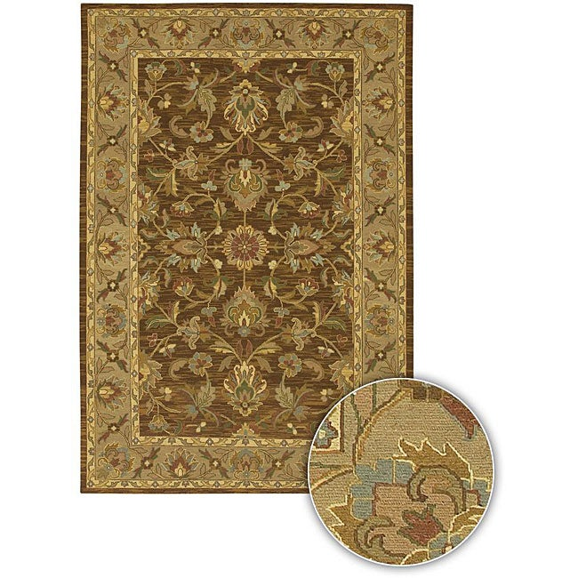 Artist's Loom Hand-knotted Traditional Oriental Wool Rug (7'9x10'6)
