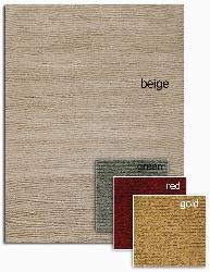 Artist's Loom Hand-tufted Contemporary Solid Wool Rug (5'x7'6) - Thumbnail 2