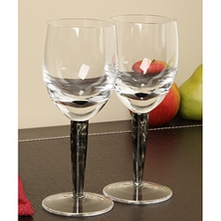 Denby Jet Red Wine Glasses (Set of 2)