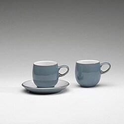 Denby 'Azure' Small Curve Mug