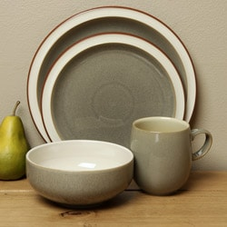 Denby Fire Sage 4-piece Place Setting