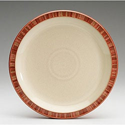Denby Fire Stripes Dinner Plate