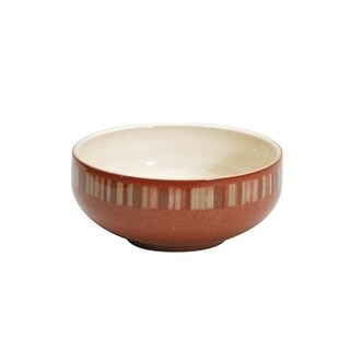 Denby 'Fire Stripes' Soup/ Cereal Bowl