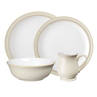 Denby Linen 4-Piece Place Setting