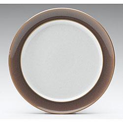 Denby Truffle Wide-rimmed Dessert/ Salad Plate
