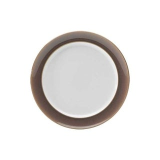 Denby Truffle Wide Rimmed Dessert/ Salad Plate