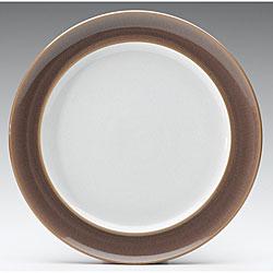 Denby Truffle Wide-rimmed Dinner Plate