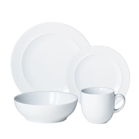 Denby White 4-Piece Place Setting