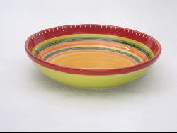 Certified International Hot Tamale 13-inch Pasta/ Serving Bowl - Thumbnail 2