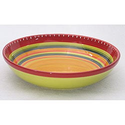 Certified International Hot Tamale 13-inch Pasta/ Serving Bowl