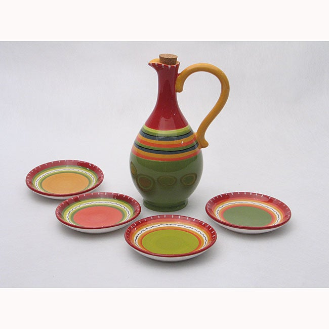 Hot Tamale 5-piece Olive Oil Set
