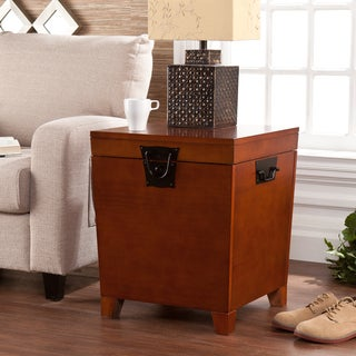 Harper Blvd Pyramid Trunk End Table