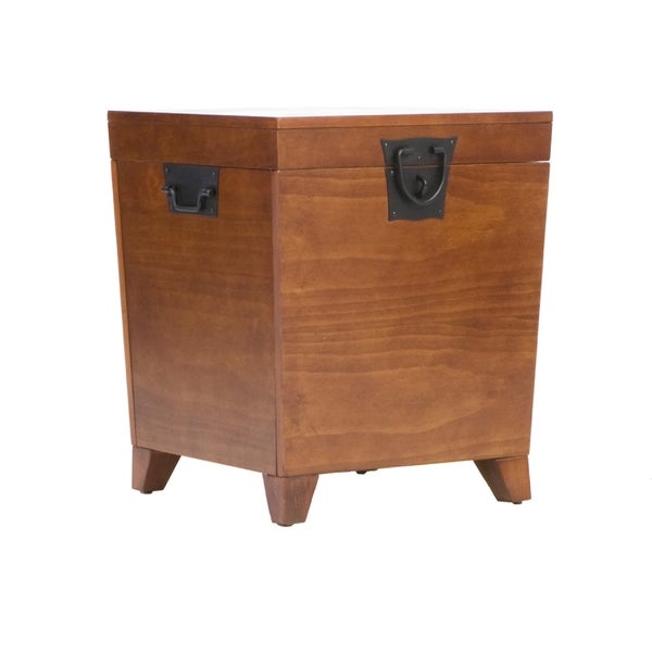Harper Blvd Pyramid Trunk End Table   Free Shipping Today   Overstock.com    12078757