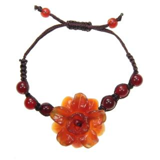Agate Flower Bracelet (China)