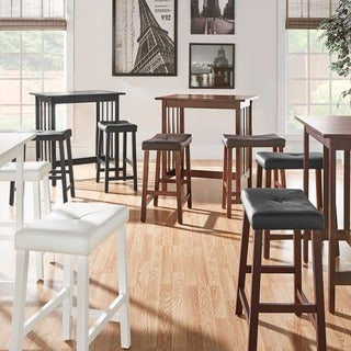 3 piece dinette set chair dining nova 3piece kitchen counter height dinette set by inspire classic buy 3piece sets dining room online at overstockcom