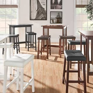 Modern contemporary kitchen dining room sets for less overstock nova 3 piece kitchen counter height dinette set by inspire q classic 3 options workwithnaturefo