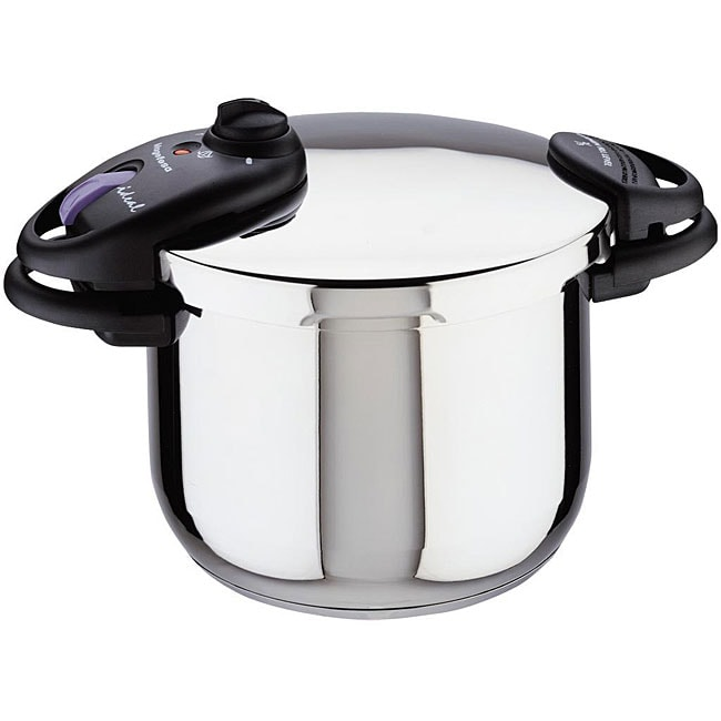Magefesa Ideal Stainless Steel 6-quart Super Fast Pressure Cooker