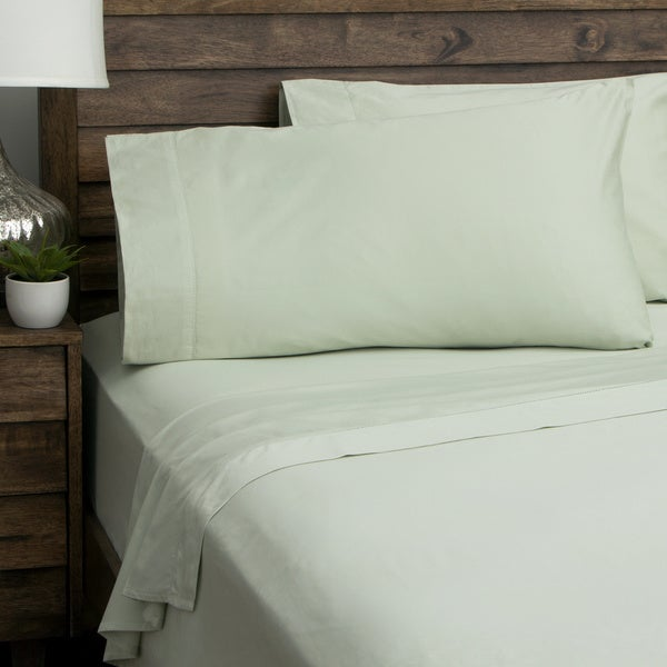 andiamo solid 500 thread count 100 percent cotton deep pocket sheet set free shipping today